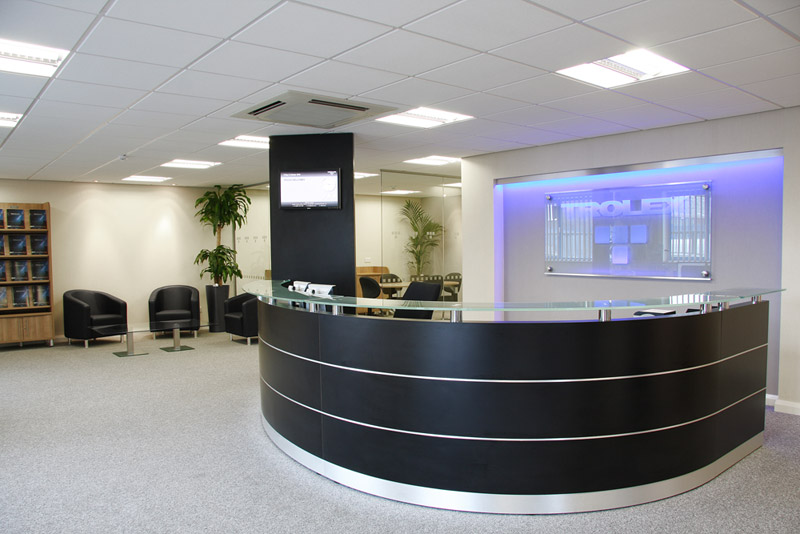 Office reception furniture manchester uk for Bureau reception